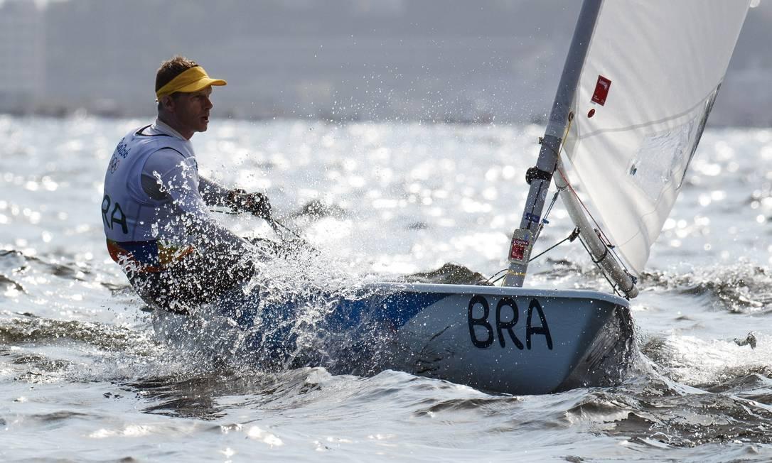 Scheidt é o maior medalhista brasileiro: tem dois ouros, duas pratas e um bronze Daniel Marenco / Agência O Globo