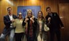 Os atores Victor Fasano, Suzana Vieira, Luana Piovani, Lucinha Lins e Jorge Pontual vão a Curitiba para apoiar Moro e a Lava-Jato Foto: Divulgação