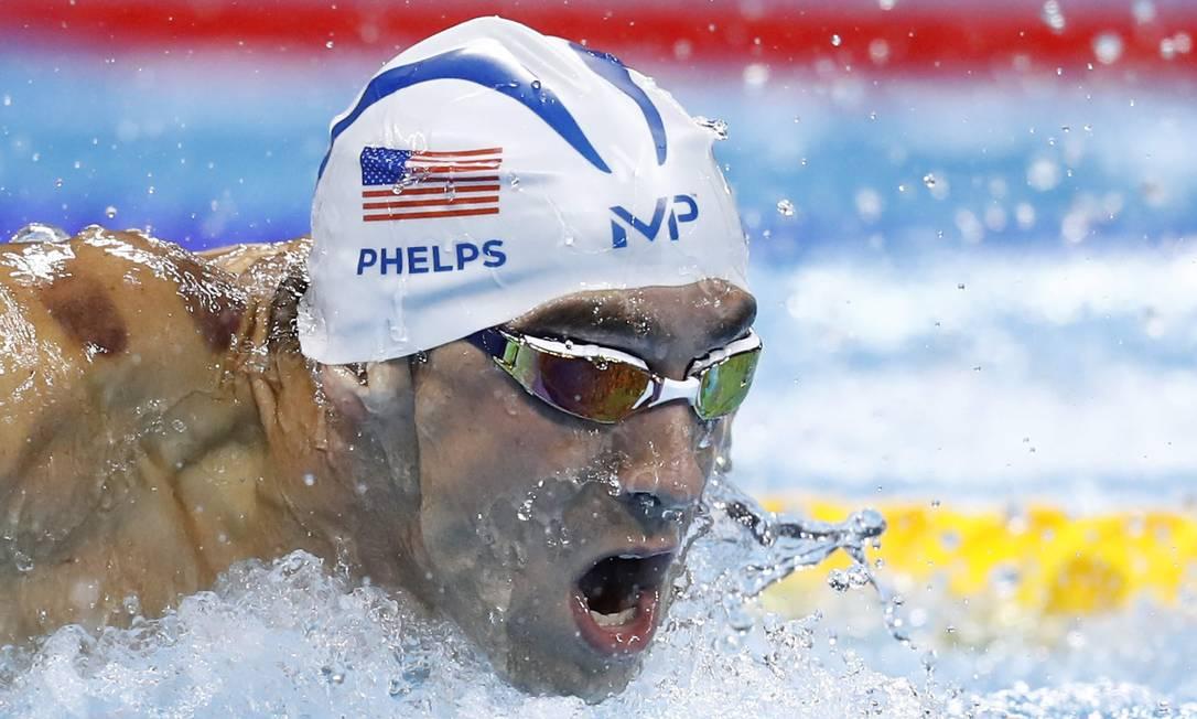 e a prova de 100m borboleta masculino ODD ANDERSEN / AFP