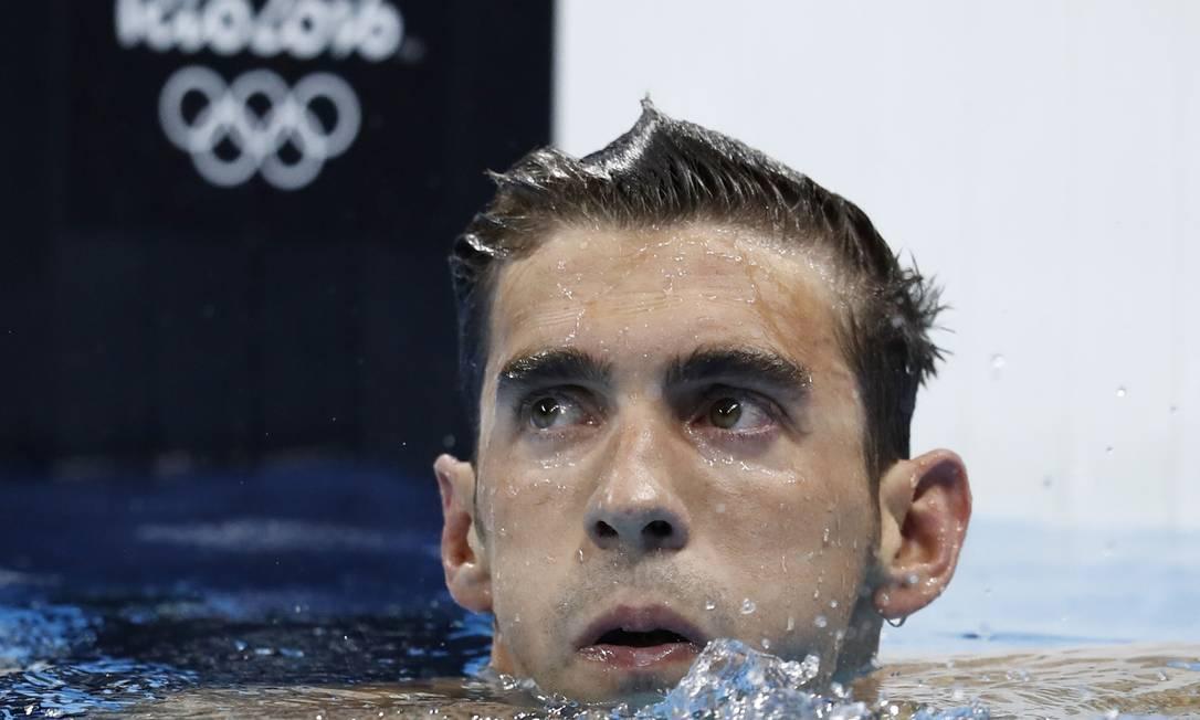 Essa é a quarta Olimpíada do nadador americano ODD ANDERSEN / AFP