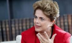 A presidente afastada, Dilma Rousseff Foto: Divulgação 02/08/2016