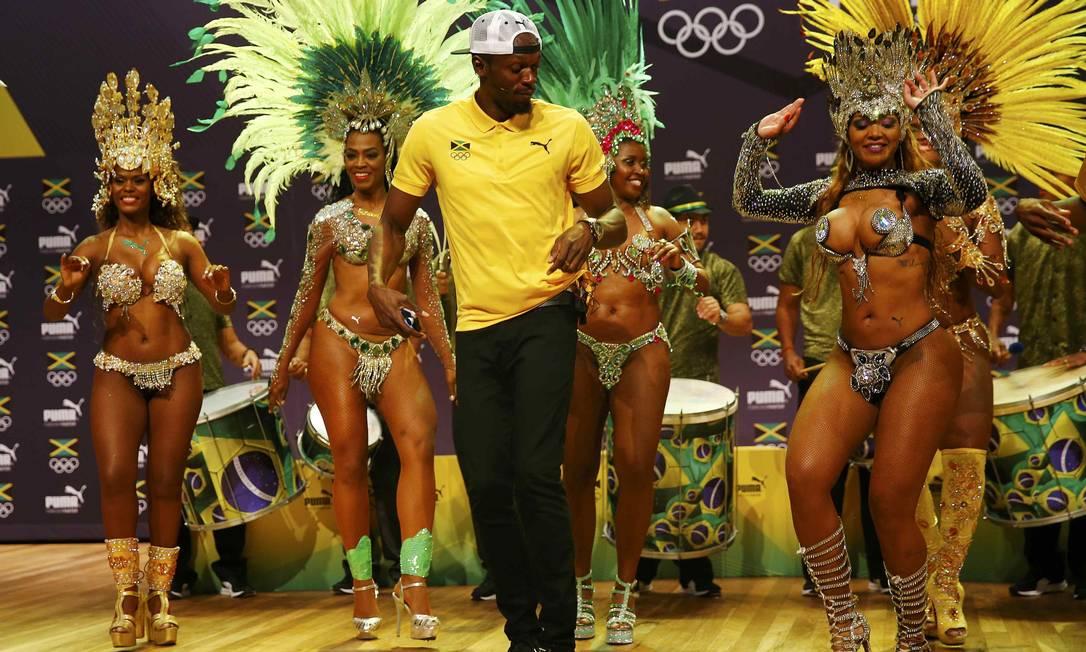 Ele não decepcionou e mostrou samba no pé NACHO DOCE / REUTERS