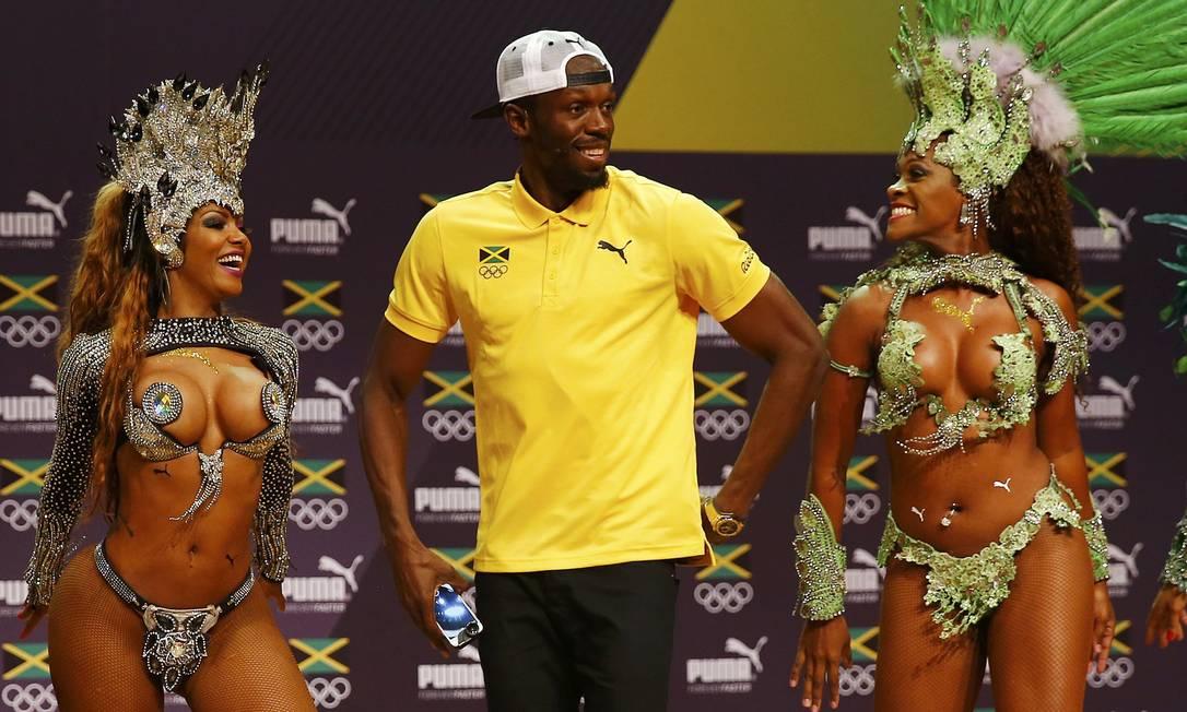 Bolt foi convidado para sambar NACHO DOCE / REUTERS