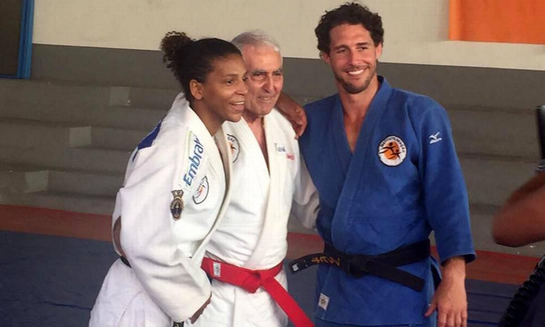 No Instituto Reação, seu talento foi lapidado — trabalho que rendeu ao Brasil sua 20ª medalha olímpica no judô FACEBOOK