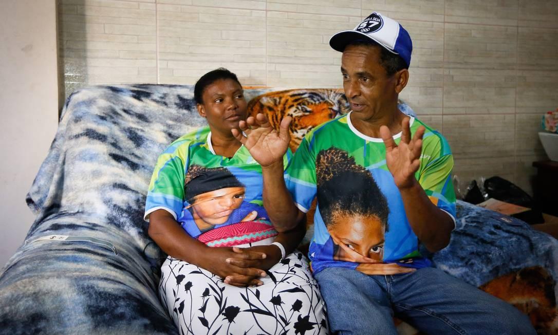 Os pais de Rafaela Silva contam detalhes da trajetória da filha campeã Olímpica Foto: Pablo Jacob / Pablo Jacob/Agência O Globo