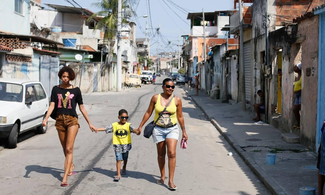 Vizinhos da Rafaela na Cidade de Deus Pablo Jacob / Agencia O Globo