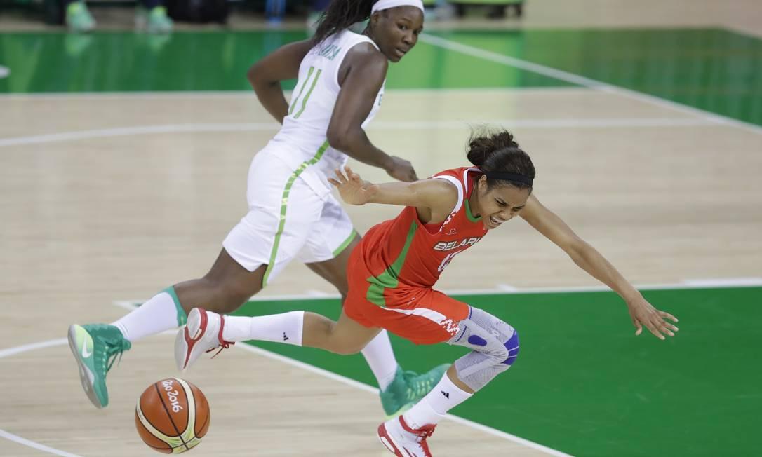 Está foi a terceira derrota do basquete feminino na Olimpíada Carlos Osorio / AP