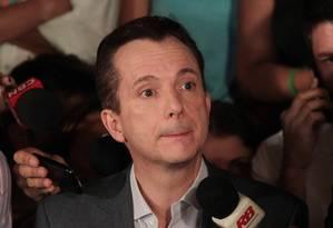 Celso Russomanno nas eleições de 2012 Foto: Eliaria Andrade / Agência O Globo