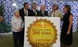"""Deputados do Psol e da Rede """"comemoraram"""" o aniversário de 300 dias que já se arrasta o processo contra Eduardo Cunha"""
