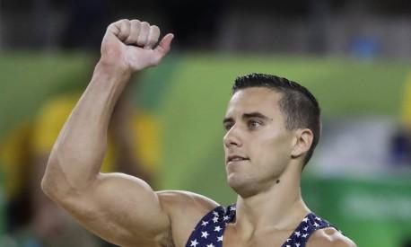 O atleta americano Jacob Dalton Foto: Rebecca Blackwell / AP