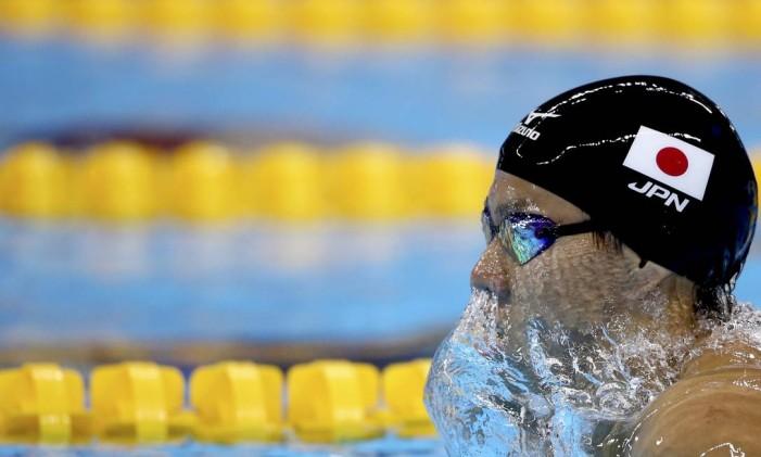 O japonês Ippei Watanabe: recorde olímpico na Rio-2016 Foto: MARCOS BRINDICCI / REUTERS