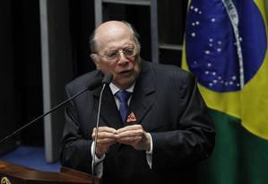 O jurista Miguel Reale Júnior argumenta que Dilma está sendo afastada pelo conjunto da obra Foto: Givaldo Barbosa / Agência O Globo
