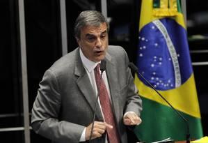 José Eduardo Cardozo compara relatório deAnastasia à Inquisição Foto: Givaldo Barbosa / Agência O Globo
