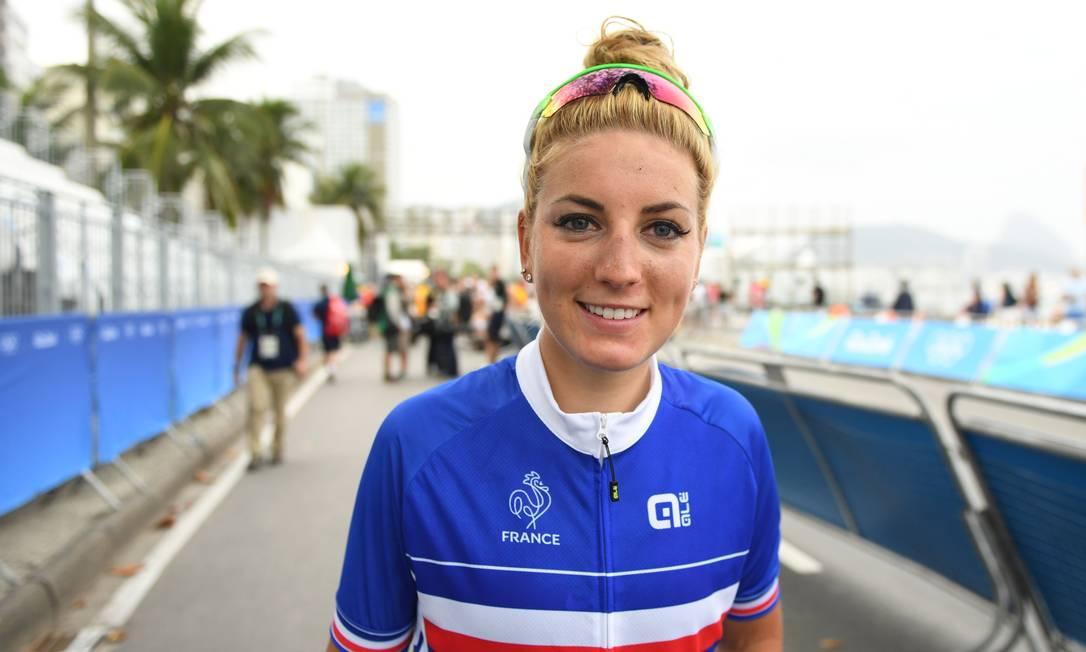 Com apenas 24 anos, Pauline é uma das ciclistas mais bem-sucedidas dos últimos tempos ERIC FEFERBERG / AFP