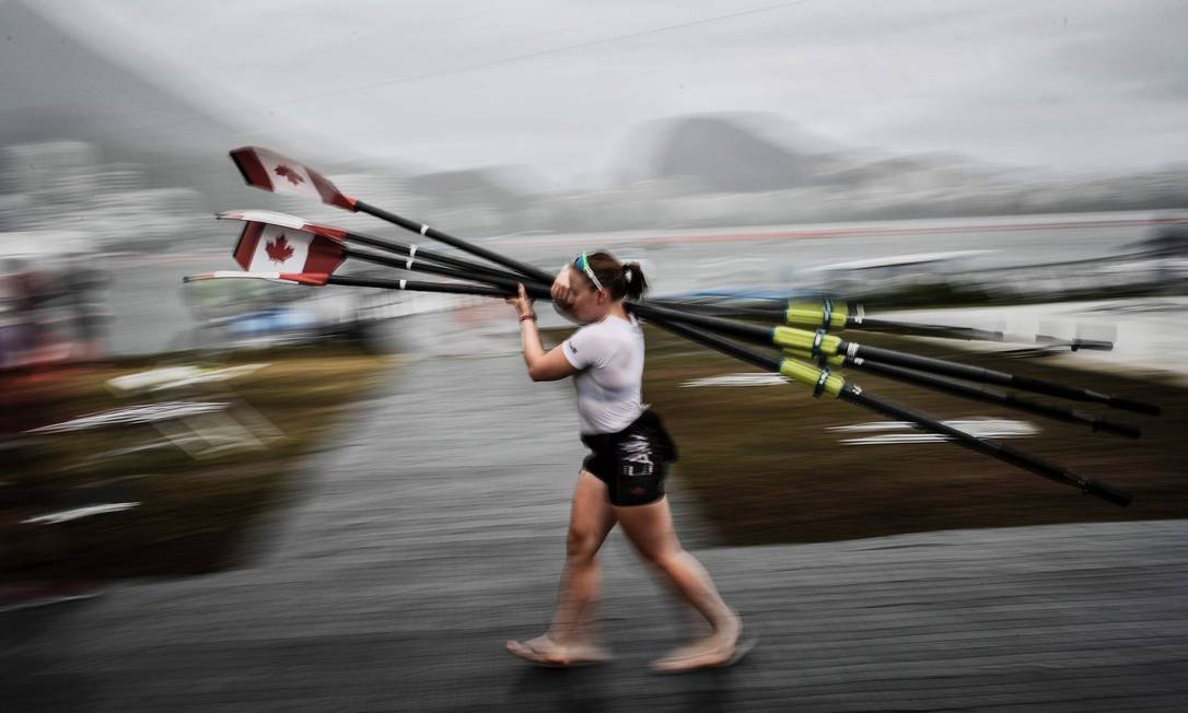 Nesta quarta aconteceriam as primeiras disputas de medalhas JEFF PACHOUD / AFP