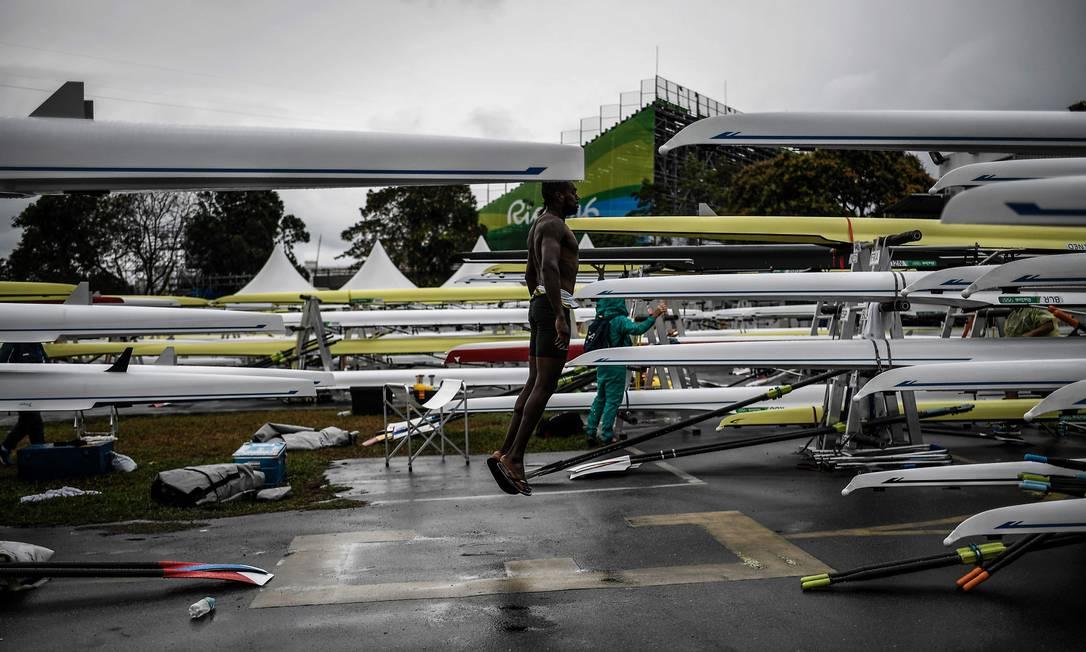A metereologia prevê frente fria também para esta quinta-feira JEFF PACHOUD / AFP