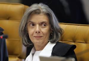 Cármen Lúcia pede para ser chamda de presidente e não presidenta Foto: Divulgação STF