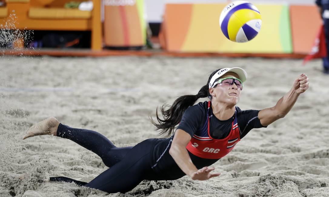 Natalia Alfaro, da Costa Rica Marcio Jose Sanchez / AP