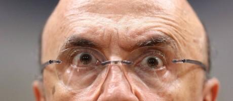 Sem perdas. Meirelles disse a empresários que aprovação de teto geral para estados garante base do ajuste fiscal Foto: O Globo / Andre Coelho/08-08-2016