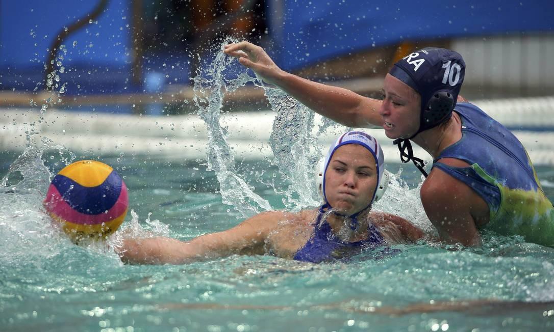 Foi a segunda derrota das meninas na competição LASZLO BALOGH / REUTERS
