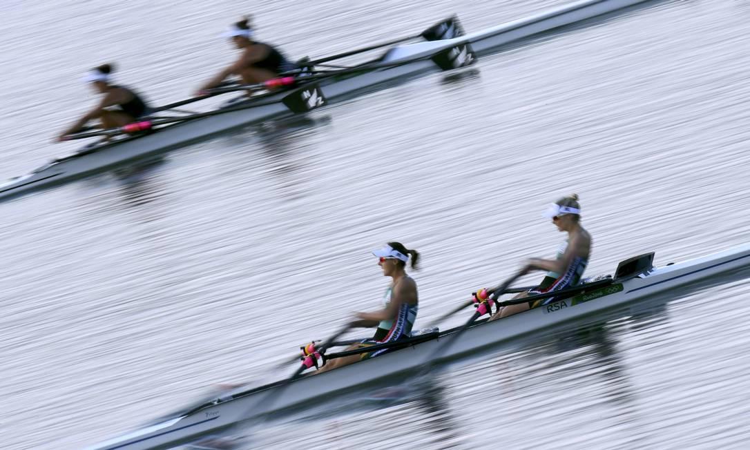 O remo é uma das modalidades mais tradicionais das Olimpíadas, presente nos Jogos desde Paris-1900 CARLOS BARRIA / REUTERS