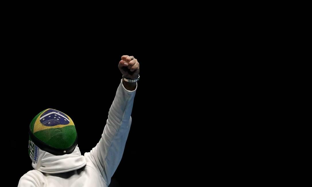 Durante a competição, os integrantes do time se revezam Pedro Kirilos / Agência O Globo