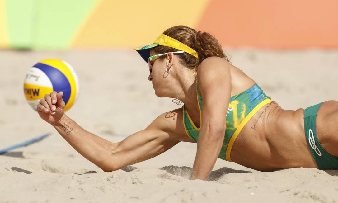 Larissa busca a segunda medalha olímpica da carreira Daniel Marenco / Agência O Globo