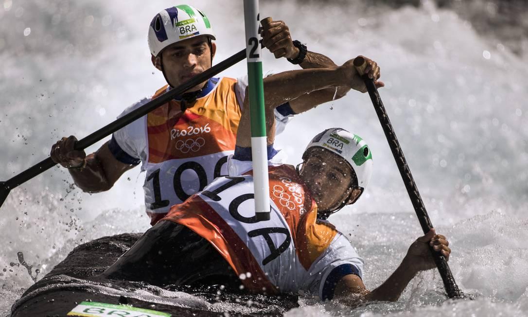 A dupla terminou a Olimpíada na 11ª posição Guito Moreto / O GLOBO / NOPP