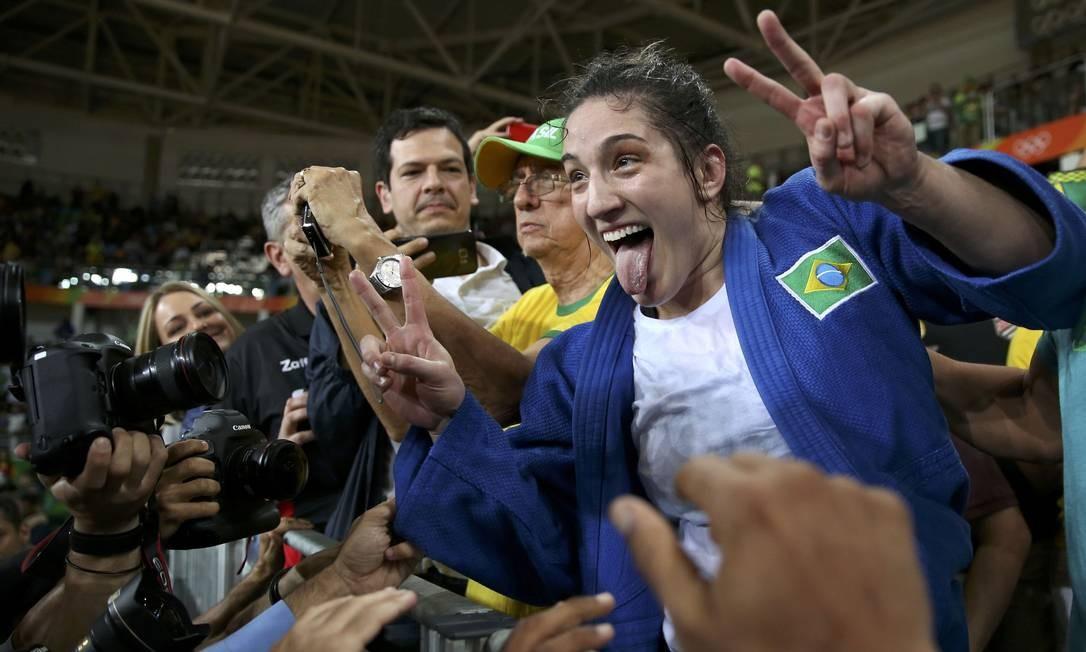 Com a vitória, o judô brasileiro chegou a sua 21ª medalha olímpica TORU HANAI / REUTERS