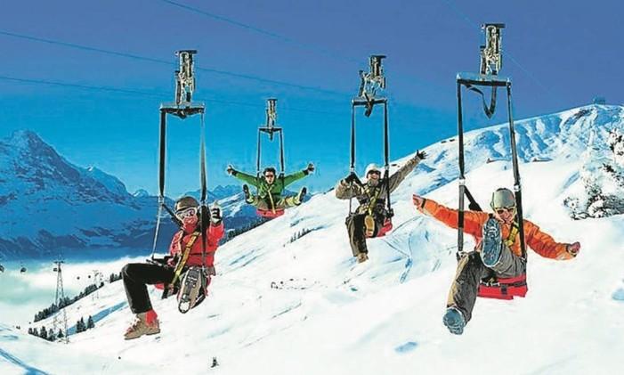 Alpes na Suiça Foto: Divulgação