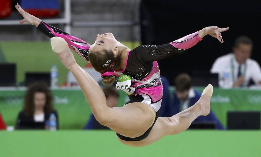 A italiane Carlotta Ferlito compete no solo MIKE BLAKE / REUTERS