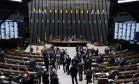 Sessão para votação das alterações propostas por deputados ao texto-base do projeto que renegocia dívidas Foto: Alex Ferreira / Câmara dos Deputados