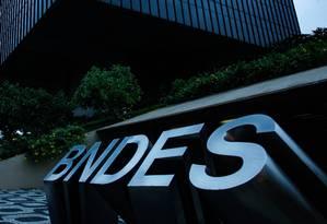 Sede do BNDES, no Rio: banco de fomento tem primeiro prejuízo desde 2003 Foto: Pedro Teixeira/17-3-2016