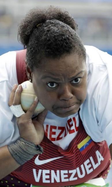 Ahymara Espinoza da Venezuela Matt Dunham / AP