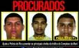 Líderes do tráfico do Complexo da Maré conhecidos como TH, Pescador e Paulinho PL estão sendo procurados pela polícia