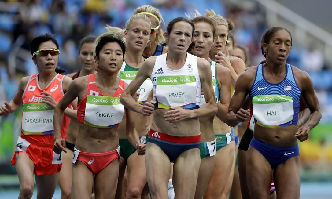 A sexta-feira, 12, foi o primeiro dia do atletismo no Rio-2016 David Goldman / AP