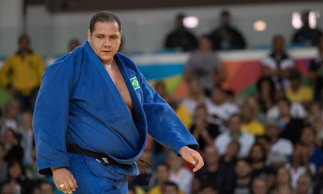 Na repescagem, Rafael Silva precisa vencer o holandês Roy Meyer e mais uma luta se quiser repetir o feito da medalha de bronze em Londres-2012 Danilo Verpa / Folha de S.Paulo/NOPP