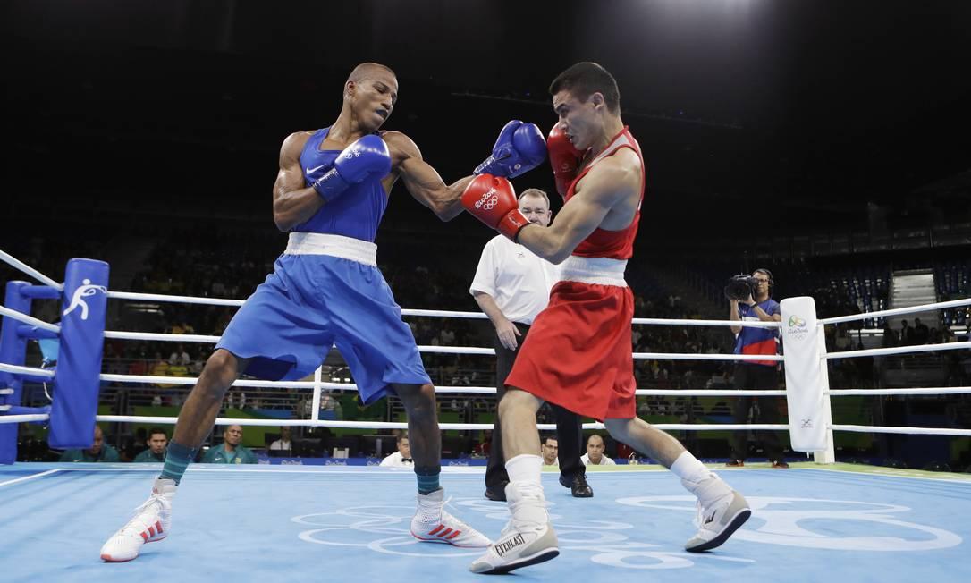 De Salvador, Robson é uma das apostas do boxe brasileiro Frank Franklin II / AP
