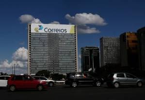 O prédio dos Correios Foto: Michel Filho / Agência O Globo