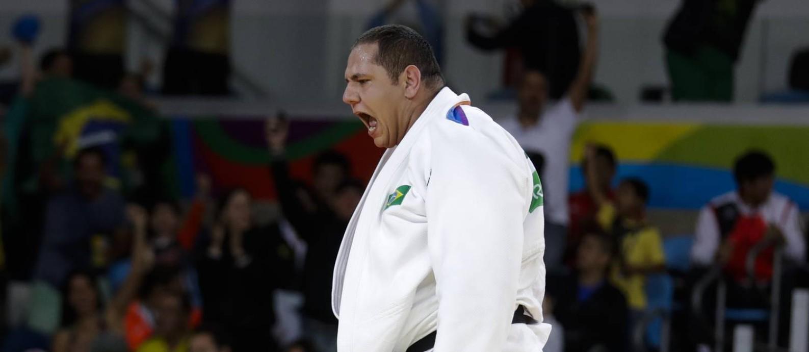 O judoca Rafael Silva, o Baby Foto: Markus Schreiber / AP