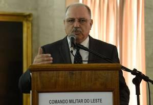 Ministro do GSI, general Sérgio Etchegoyen Foto: Tomaz Silva / Agência Brasil