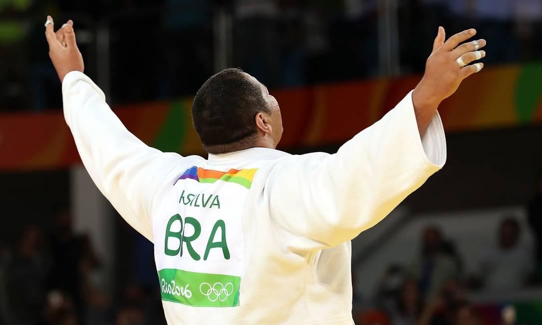 Com a vitória de Baby, o Brasil acumula quatro medalhas nas Olimpíadas, sendo três em competições de judo — Rafaela Silva ganhou o ouro e Mayra Aguiar, o bronze. Julio Cesar Guimarães / UOL/NOPP