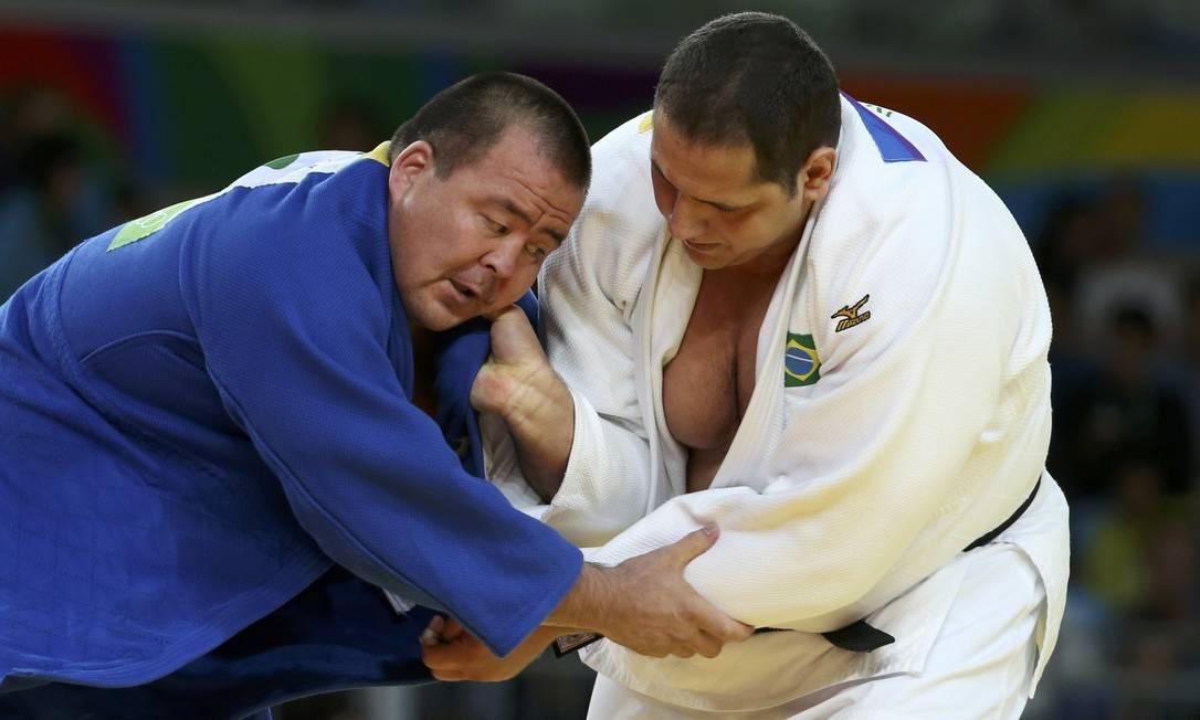 O combate foi definido no detalhe: Baby venceu por 1 yuko, a pontuação mínima no judô TORU HANAI / REUTERS