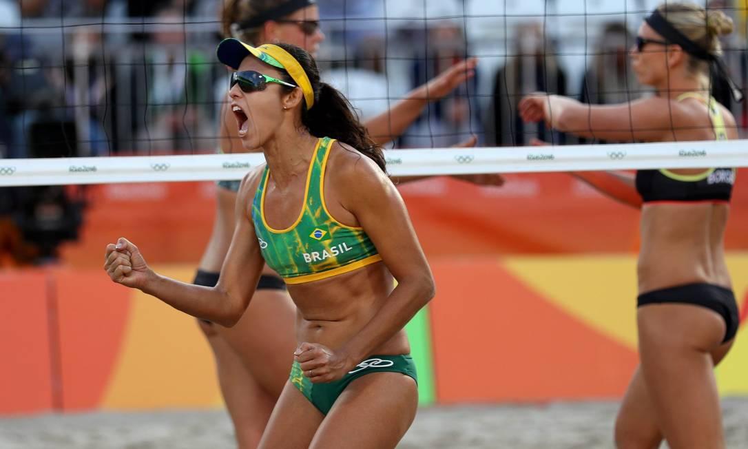 A dupla brasileira está invicta nos jogos do Rio-2016 Marcelo Carnaval / Agência O Globo