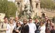 Grupo. Em tour personalizado por Barcelona