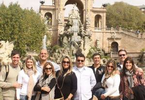 Grupo. Em tour personalizado por Barcelona Foto: Divulgação / Divulgação/Barcelona da Gema