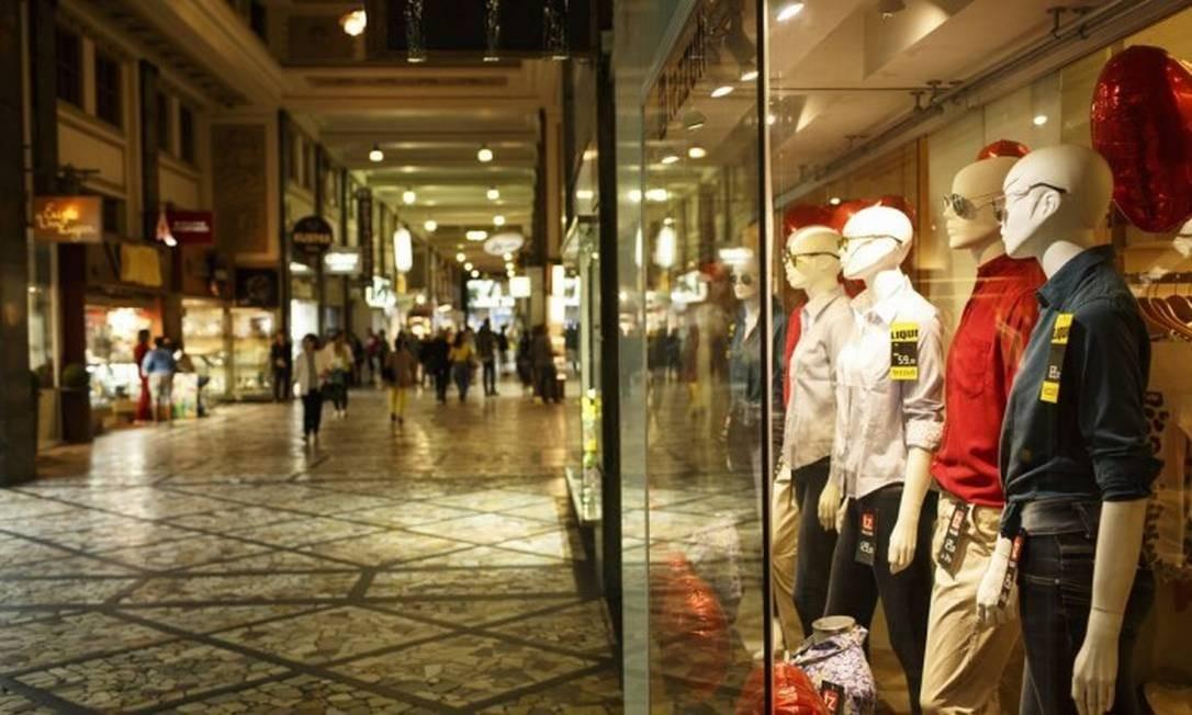 Comércio aposta em vendas aquecidas para o Natal. E a contratação de temporários deve ser a maior em seis anos Foto: Arquivo