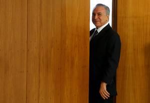 O presidente interino, Michel Temer Foto: Ailton de Freitas / Agência O Globo