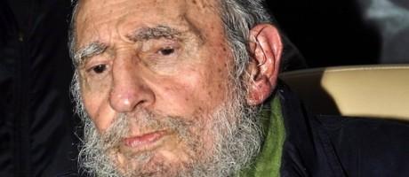 Fidel em inauguração de centro cultural em Havana, em 2014 Foto: HO / AFP