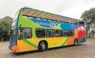 O ônibus oficial da cidade Foto: Arthur Moura /dIVULGAÇÃO